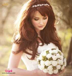 آرایش موی ستارهها در جشن عروسی