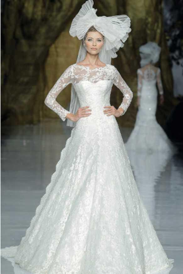 آلبوم عکس لباس عروس آستین بلند