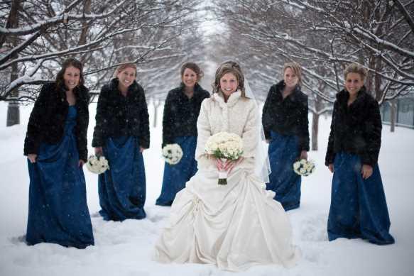 جشن عروسی در زمستان