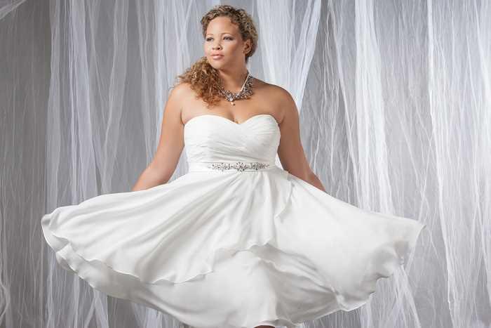 لباس عروس کوتاه نپوشید