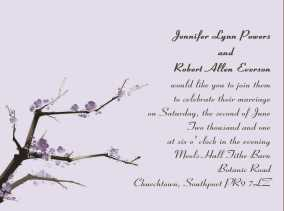 کارت عروسی با متن انگلیسی
