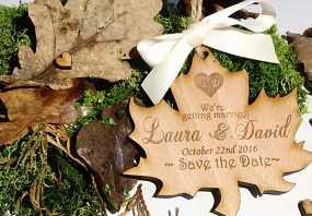 کارت عروسی چوبی؛ مدل های متنوع