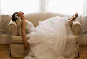 کاهش استرس، یک روز قبل از عروسی