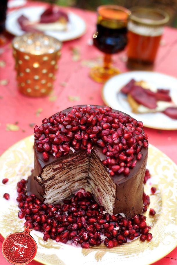 آلبوم تزئین کیک و دسر ویژه شب یلدا