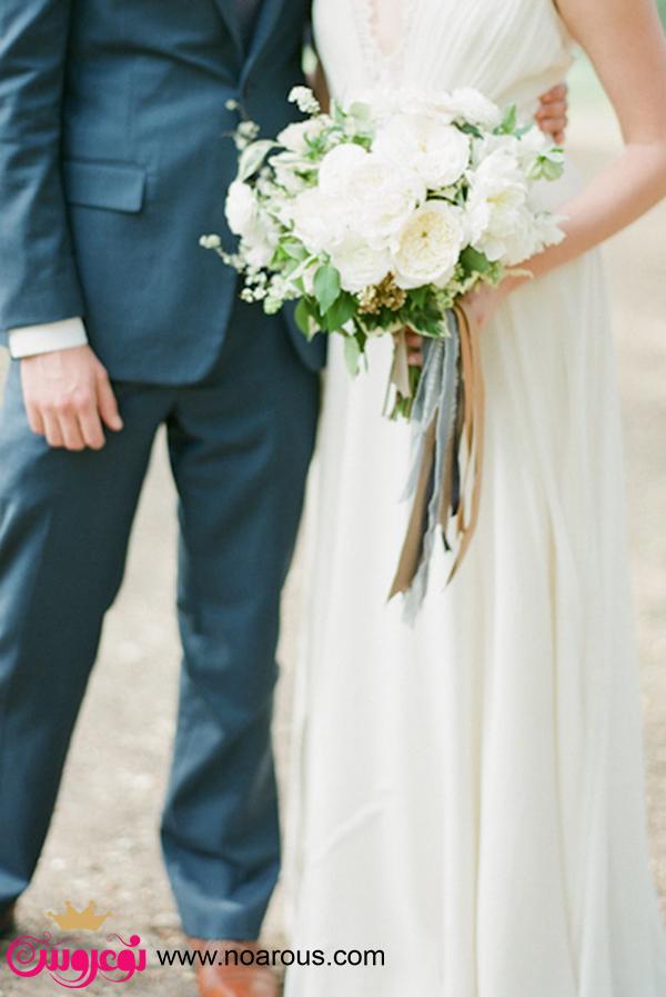 آلبوم دسته گل سفید برای عروس
