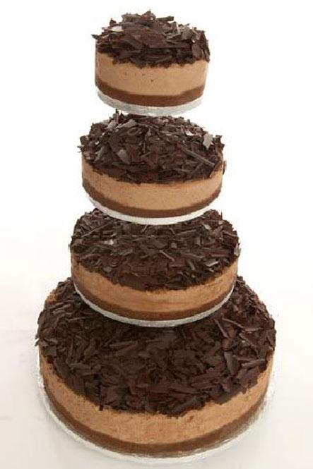 آلبوم زیباترین کیکهای عروس با طعم شکلات