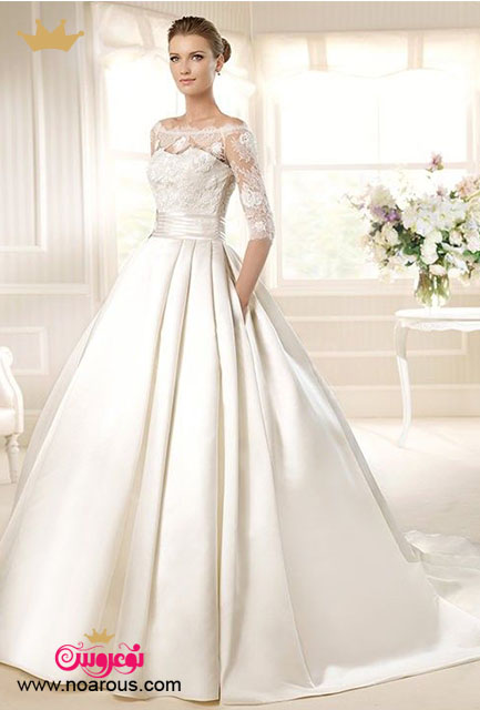 آلبوم شیک ترین مدل های لباس عروس پفی
