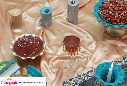 آلبوم عکس سفره هفت سین رز دیزاین