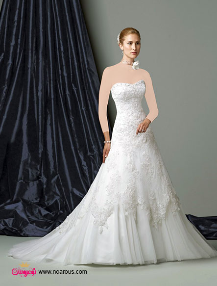 آلبوم عکس لباس عروس ارگانزا