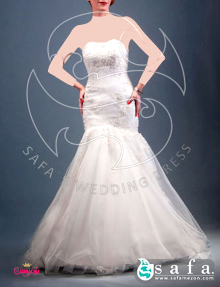 آلبوم عکس لباس عروس مزون صفا