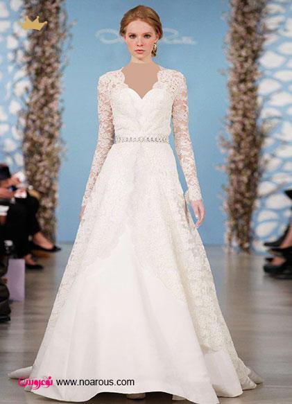 آلبوم عکس لباس عروس های پوشیده سال 2014