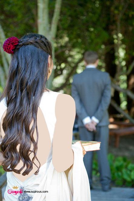 آلبوم عکس مدل موهای ساده عروس
