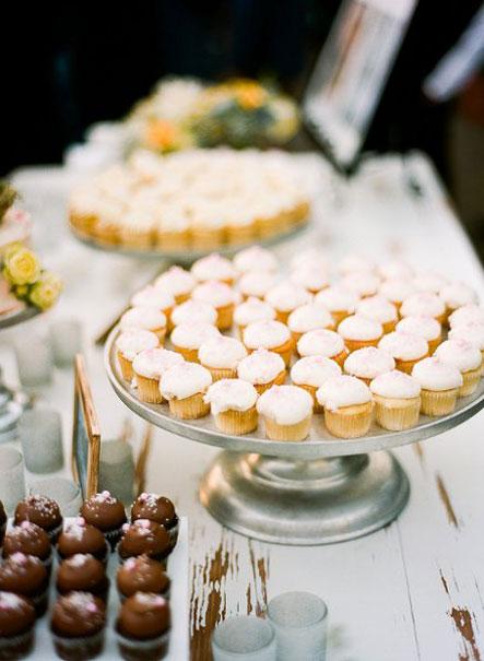 آلبوم عکس کاپ کیک های عروسی