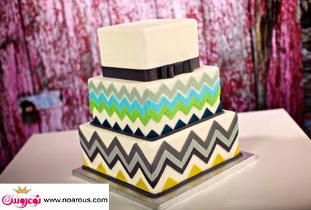آلبوم عکس کیک عروسی مدرن