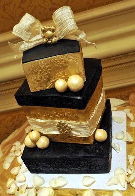 آلبوم عکس کیک های عروسی زمستانه