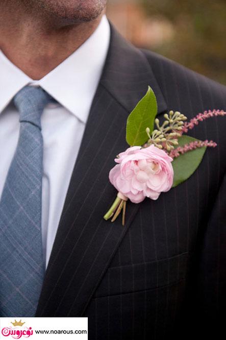 آلبوم عکس گل سینه داماد