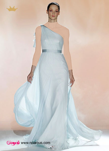 آلبوم لباس برای عروس هایی با شانه ظریف