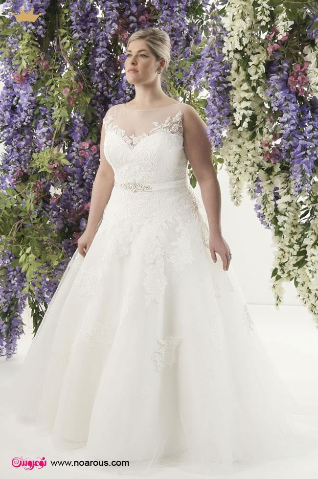 آلبوم لباس عروس برای اندام های پُر