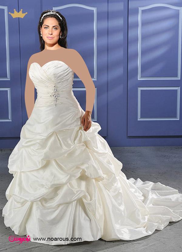 آلبوم لباس عروس برای خانمهای چاق