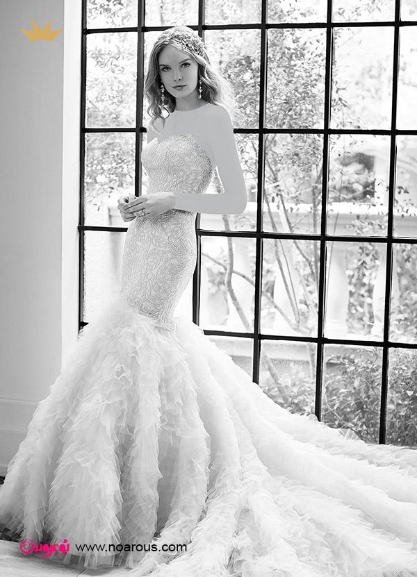 آلبوم لباس عروس برای لاغرها
