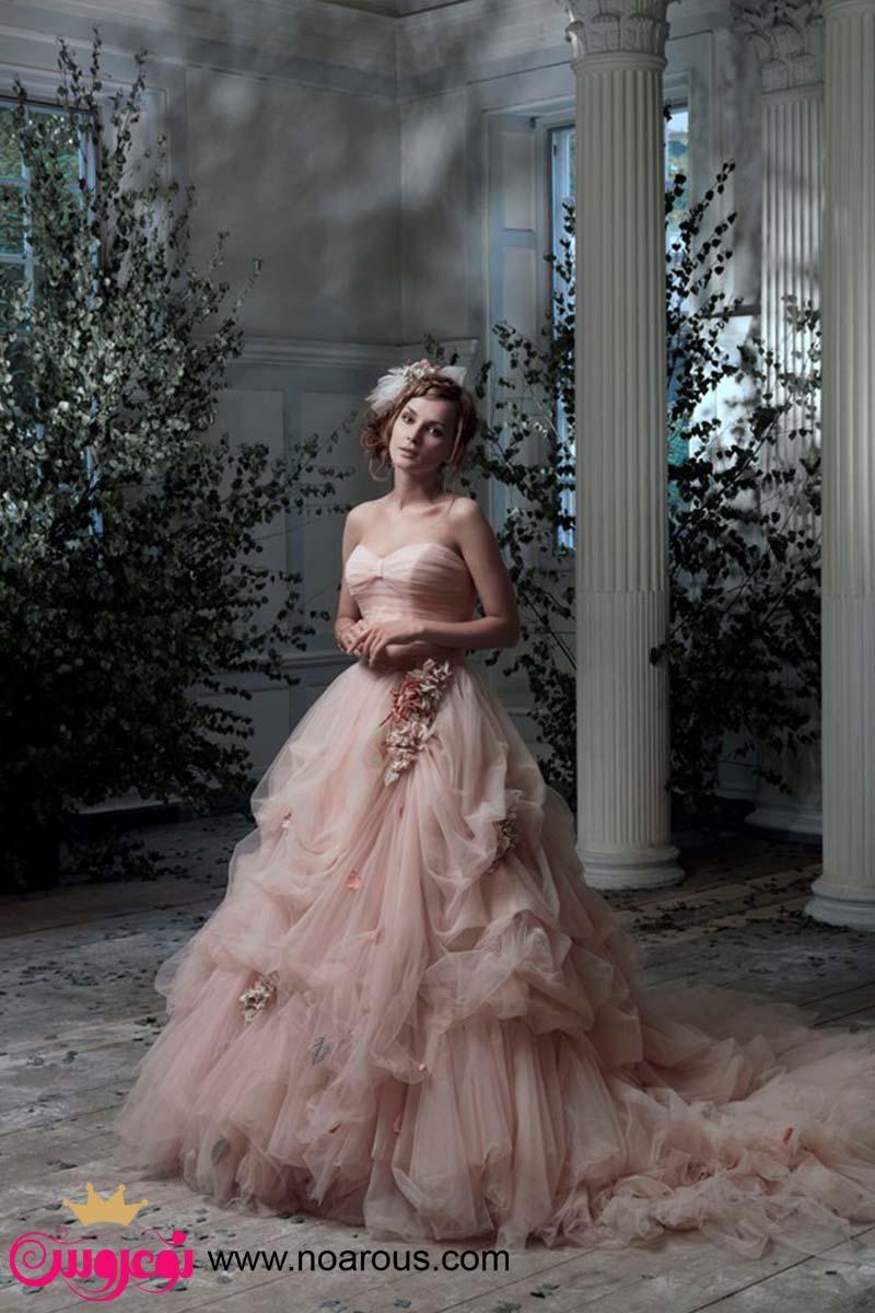آلبوم لباس عروس رنگی