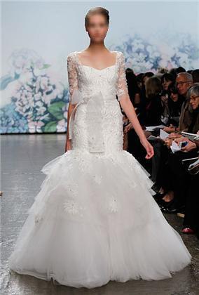 آلبوم لباس عروس های آستین بلند