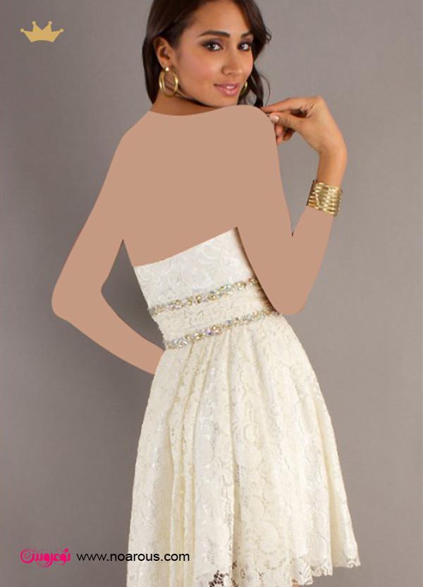 آلبوم لباس عروس پشت باز