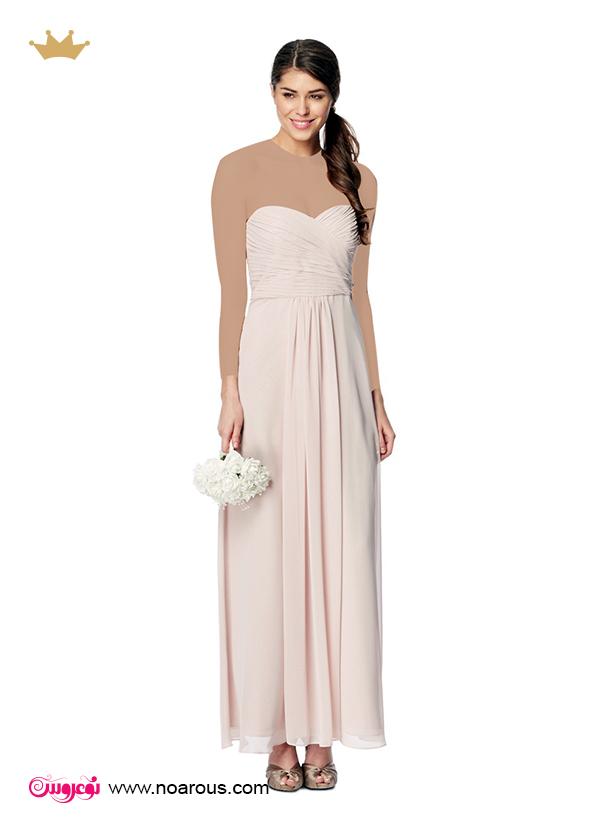 لباس عروس استین سه ربع آلبوم: لباس مجلسی برای ساده پوش ها