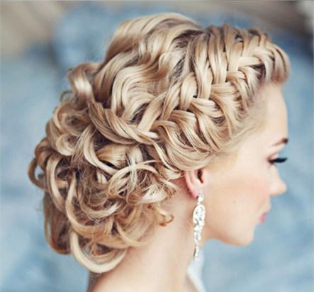 آلبوم مدل های اروپایی موی عروس