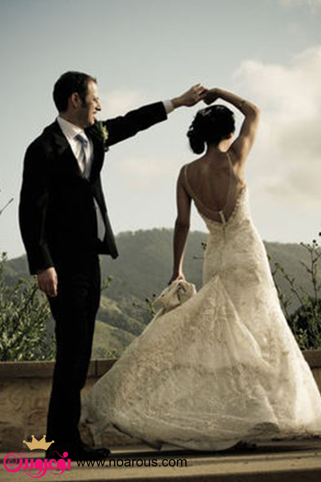 آلبوم ژست دونفره عروس و داماد