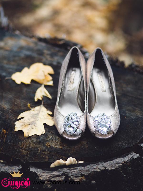 آلبوم کفش های نقره ای برای نوعروس ها