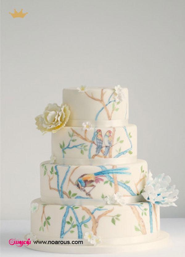 آلبوم کیک های نقاشی شده با دست