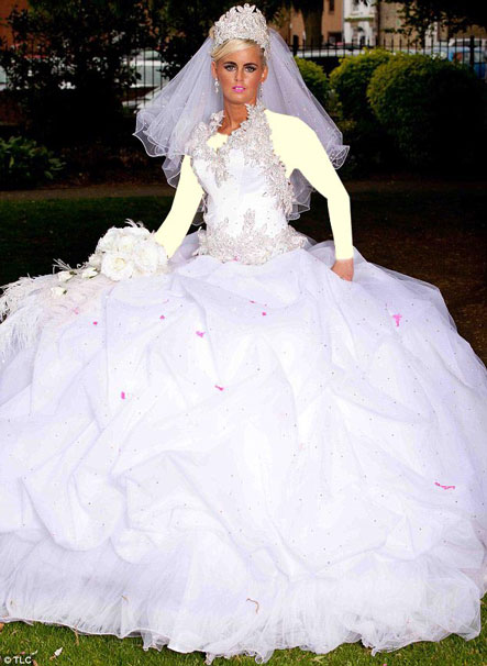 لباس عروسی های کولی وار