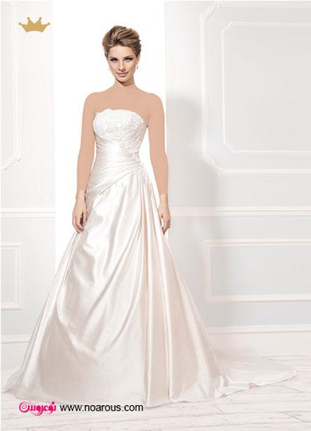 لباس عروس شکوفهای «الیس» برای بهار 2014