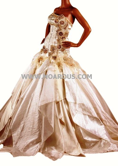 مدل لباس عروس مورد پسند خود را در مزون تاج محل می یابید