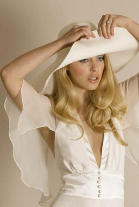 4 مدل موی باز برای عروس های بلند گیسو