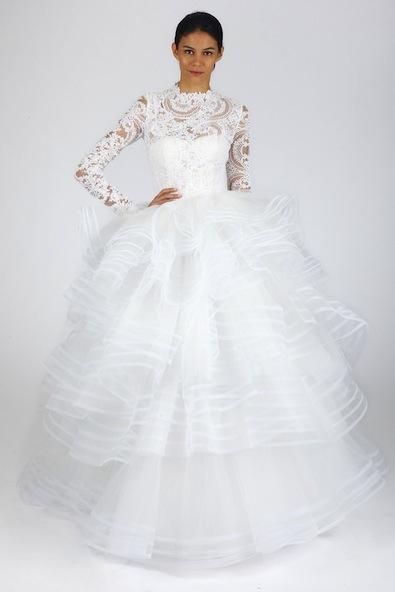 گلچین بهترین لباس عروسهای 2013