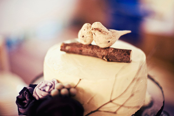 10 طرح ویژه برای تزیین کیک عروسی