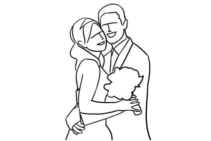 10 ژست عکاسی عروسی در آتلیه عروس