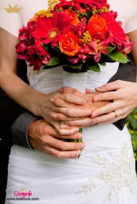 آلبوم: دسته گل عروس با رز