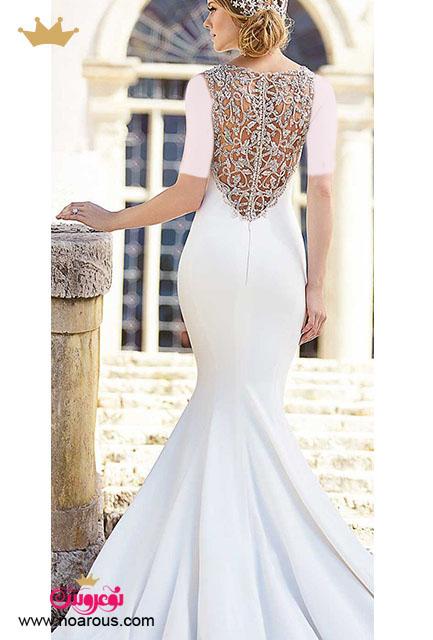 آلبوم زیباترین مدل های پشت لباس عروس