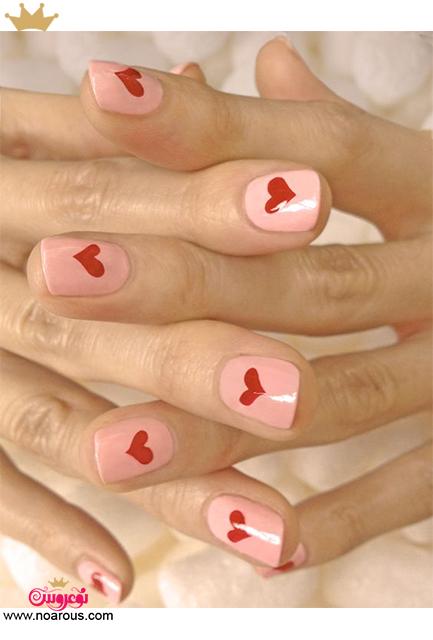 آلبوم دیزاین ناخن  شیک برای روز ولنتاین