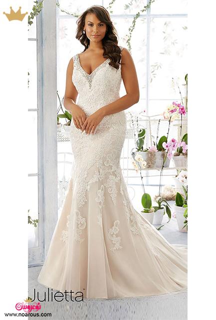 لباس عروس برای عروس های تو پر