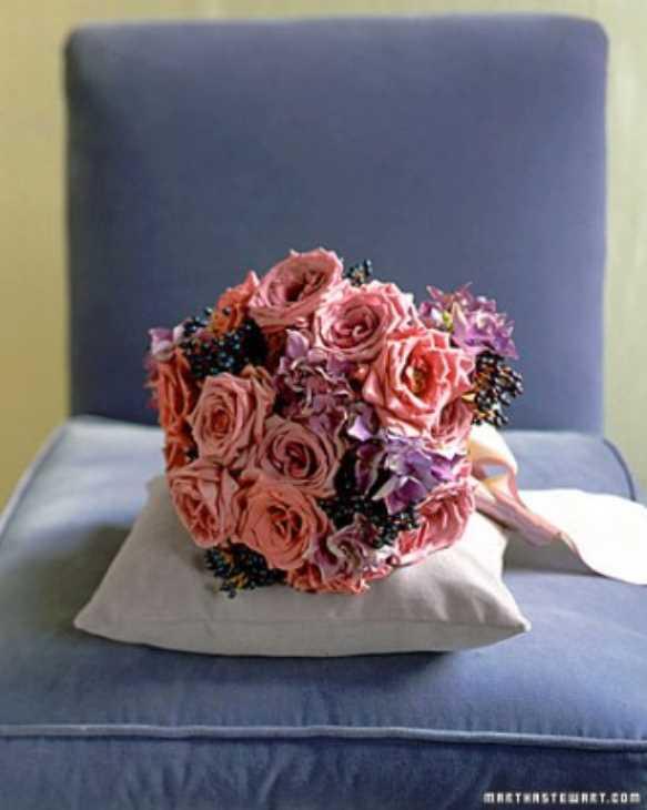 آلبوم عکس دسته گل رز عروس