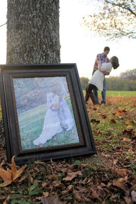 ایده عکاسی برای سالگرد ازدواج