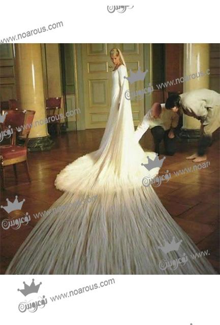 عجیب ترین لباس عروس ها