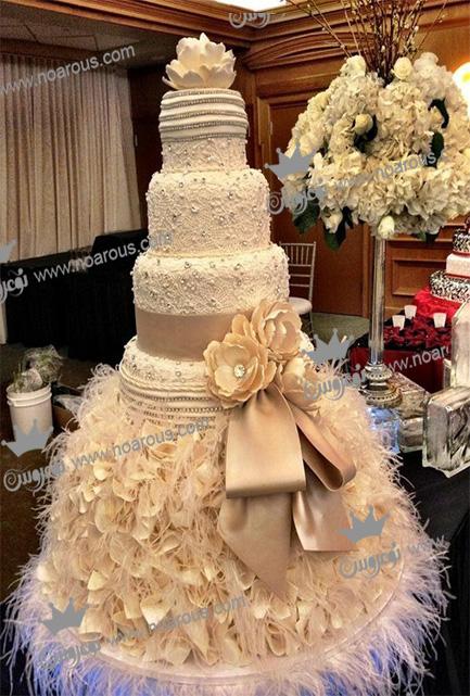 خاص ترین کیک های عروسی میلیاردی