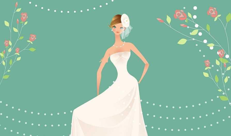 چه عروس هایی نباید لباس عروس دکلته بپوشند؟