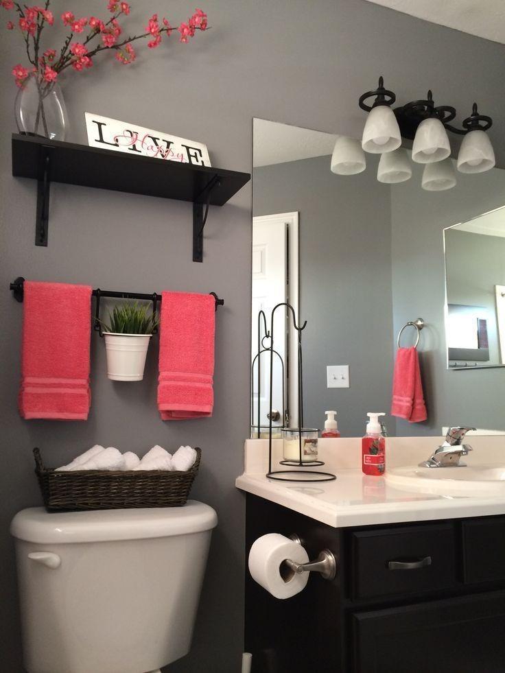 ایده های رنگی برای دستشویی های کوچک