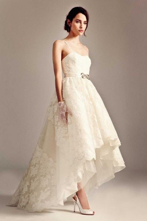لباس عروس دکلته ی بندی